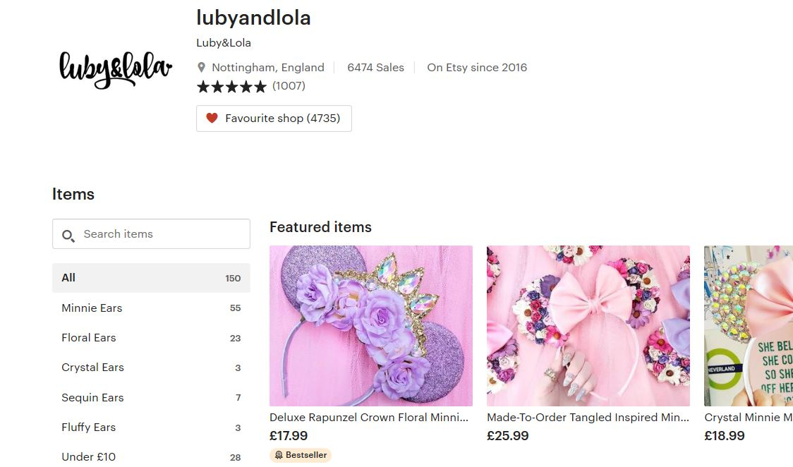 luby and lola etsy shop