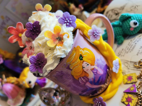 floral disney hot chocolate ideas
