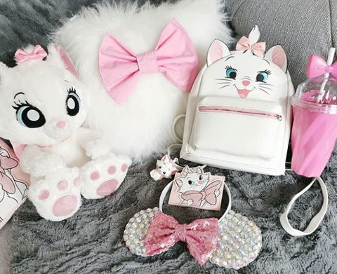 fluffy marie aristocats cushion