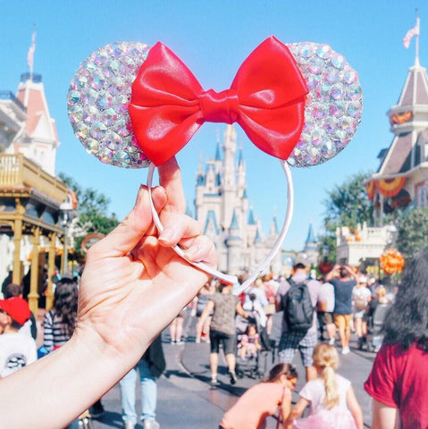 crystal minnie mouse ears