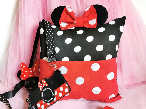 minnie mouse ears cushion