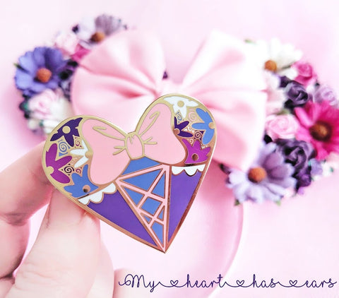 rapunzel pin disney princess pins my heart has ears lubyandlola fantasy pins