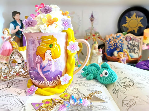 tangled inspired rapunzel hot chocolate
