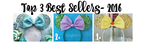 LubyandLola Best Sellers Top 3 2016 Minnie Mouse Ears