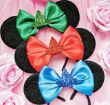 3 Fairies Inspired Ears With Glitter Hat (With or without a veil)