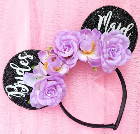 Floral Bridesmaid Headband