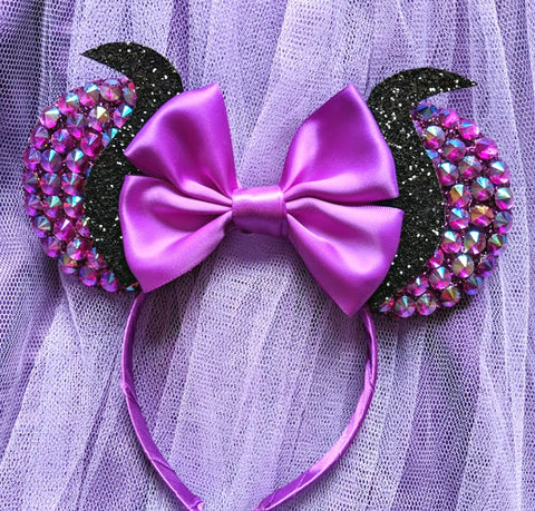 Crystal Maleficent Inspired Ears