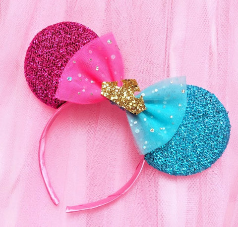 Aurora Minnie Ears With Crown