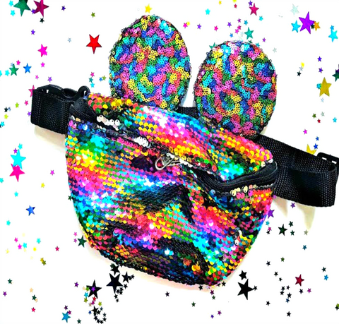 Rainbow Mickey Bum Bag