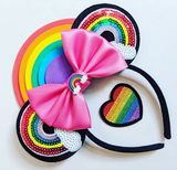 Rainbow Patch Ears