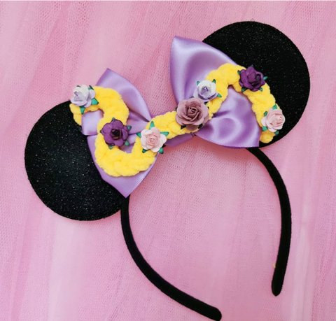 Rapunzel Plait Bow Headband