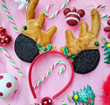 Jingle Bells Reindeer Mouse Ears