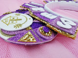 Purple Princess World Headband