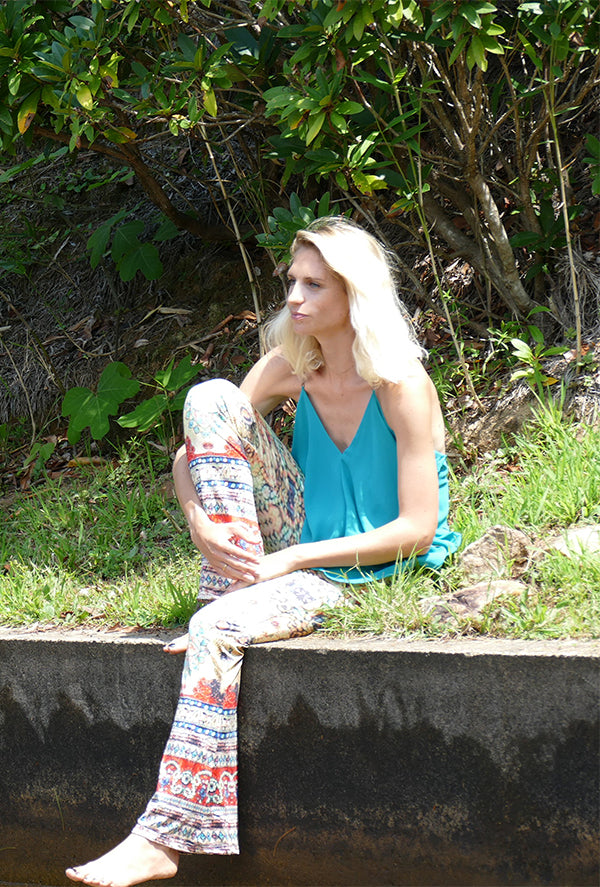 Retro Hippie Stretch Pants
