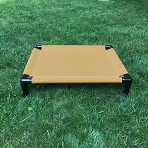 SamsaBeds Dog Bed - Black Frame