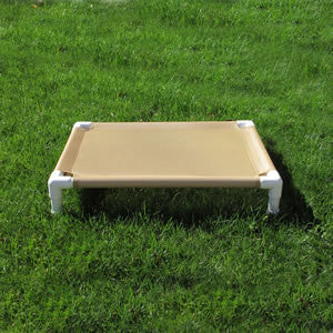 SamsaBeds Dog Bed - White Frame