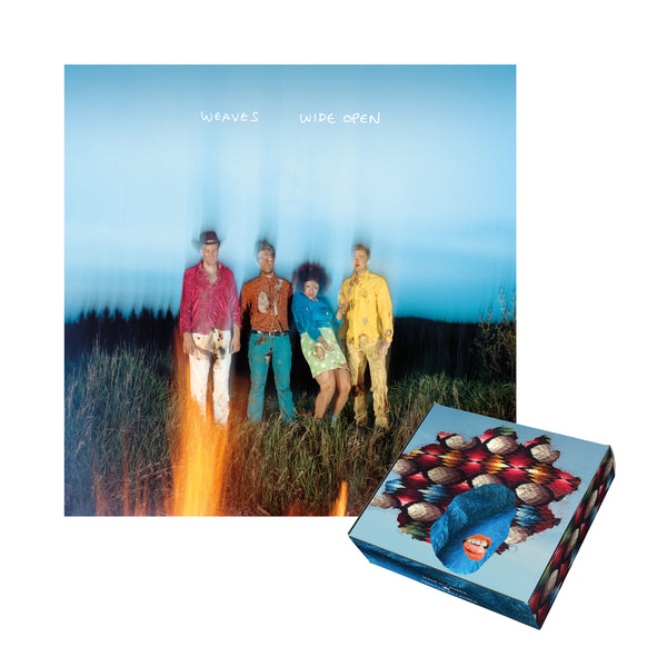 "Weaves ""Wide Open"" LP + Lipstick Pre-Order Package"