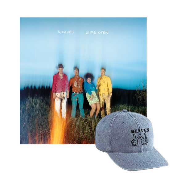 "Weaves ""Wide Open"" LP Pre-Order Package"