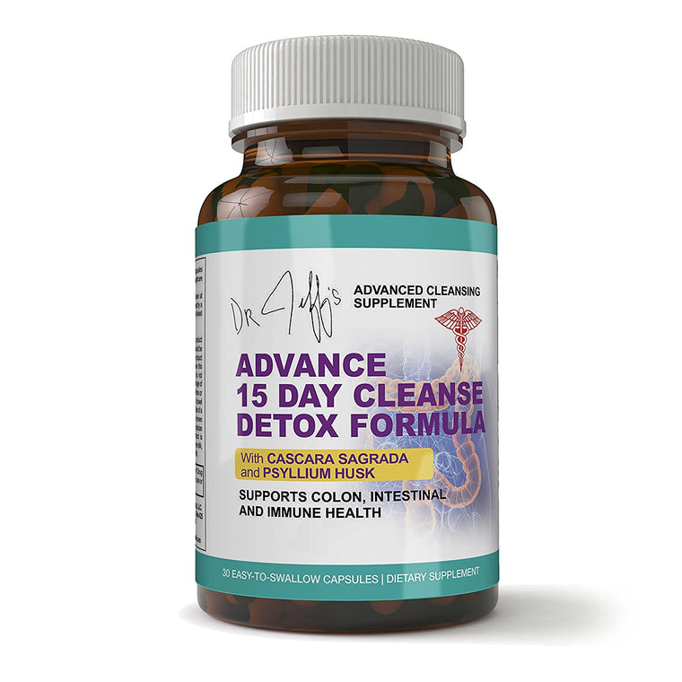Dr. Jeff's Colon: Advanced 15 Day Detox Cleanse Formula (30 Capsules)