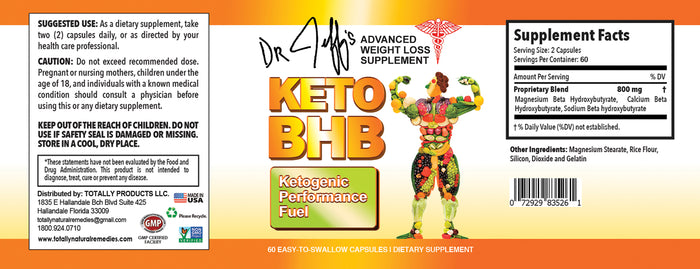 Dr. Jeff's Advanced Keto BHB - Exogenous Ketogenic Performance Fuel for Weight Loss