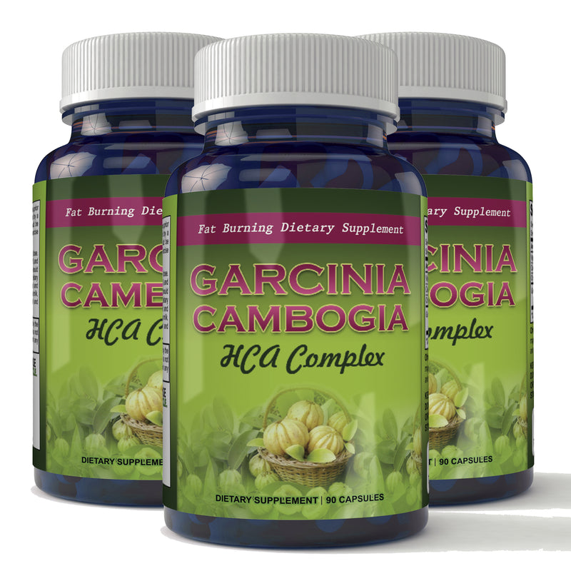 Garcinia Cambogia HCA Complex Natural Appetite Suppressant and Weight Loss Supplement