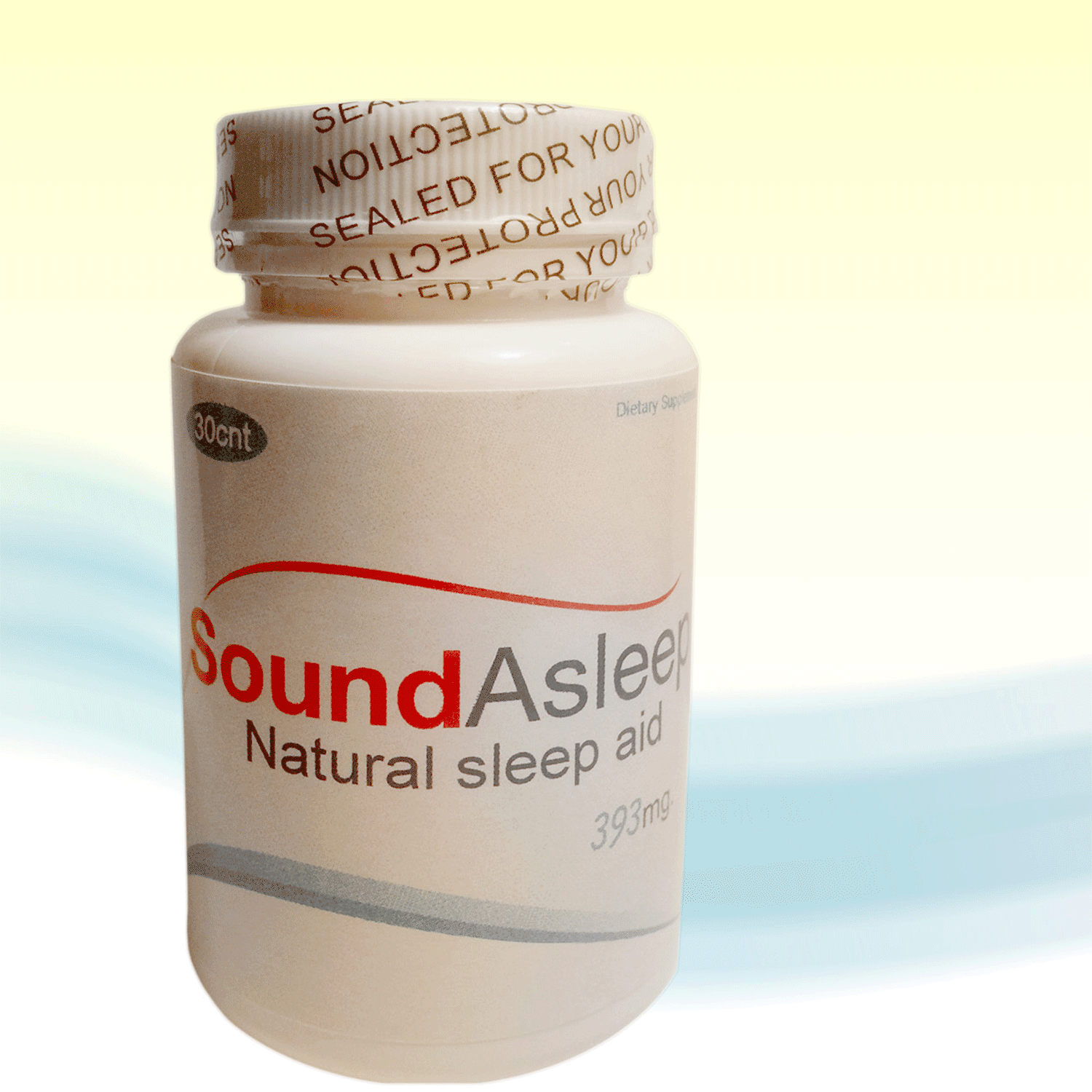 Sound Asleep 60 - Sleep Aid Support - Natural Over the Counter Sleeping Aids