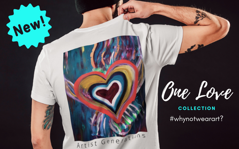 Artist Generations - Wearable Art - One Love Collection