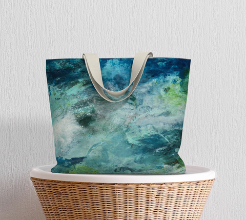 Blue Tonic Earth Day Tote