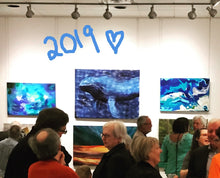 2019 Exhibition - Big Blue by Reni Fee
