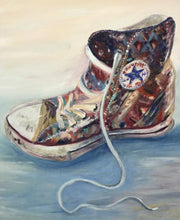 Shoe Original Art - Reni Fee
