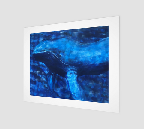 Big Blue Fine Art Print