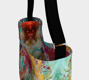 Wearable Art - Artist Generations - Opal Reef Tote Bag