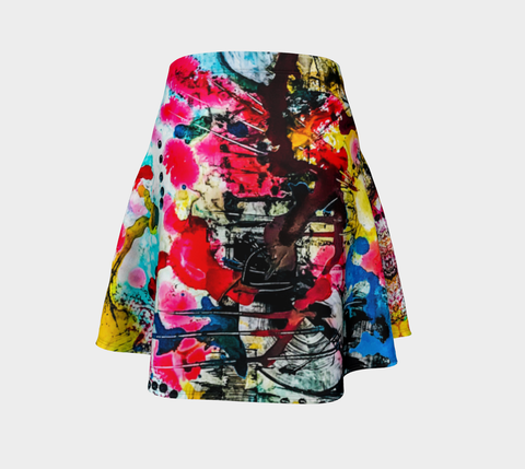 Artist Generations - GraFeeti Street - Swing Skirt