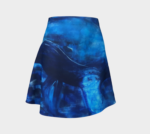 Big Blue Swing Skirt by Artist Generations