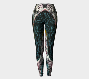 Wearable Art - Artist Generations - Spiraling Street Leggings