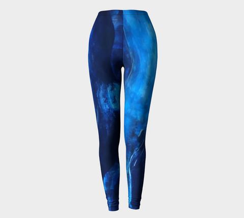 Big Blue Street Leggings