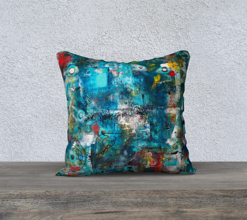 In It Together Throw Pillow