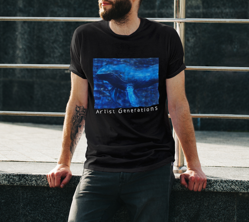 Artist Generations - Big Blue Unisex Tee