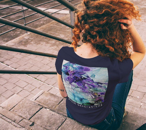Artist Generations - Pretty In Purple Women's Tee