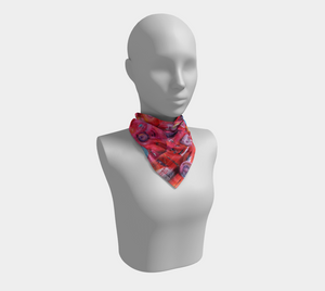 Wearable Art - Artist Generations - Spring Scarf