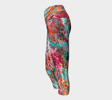 Wearable Art - Artist Generations - Opal Reef Capris