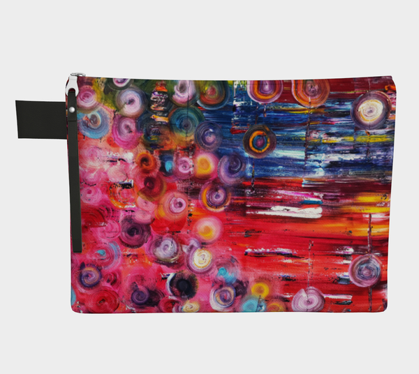 Wearable Art - Artist Generations - Spring Fling Clutch