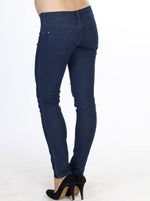 Angel Maternity Stephanie -Maternity Slim Jeans in Medium Blue