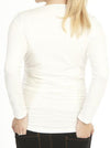 Maternity Long Sleeve Basic Tee in White