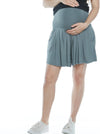 Over the Belly Maternity Culottes Shorts - Khaki