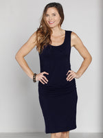 Maternity Reversible Dress in Navy