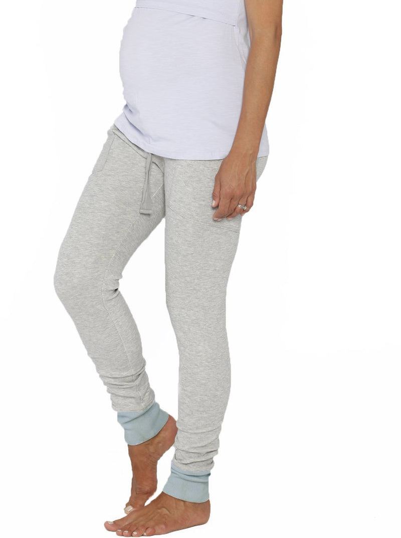 Comfortable Maternity PJ Sleepwear Lounge Pants - Light Grey