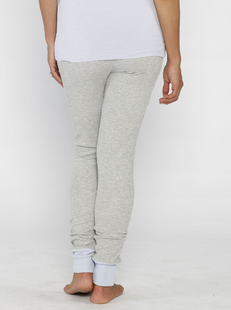Comfortable Maternity PJ Sleepwear Lounge Pants - Light Grey - Angel Maternity - Maternity clothes - shop online