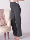 Maternity Stretchy Lounge Pant in Dark Charcoal - Angel Maternity - Maternity clothes - shop online