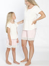 Ruby Joy PJ Sleepwear Mummy Shorts - Pink - Angel Maternity - Maternity clothes - shop online
